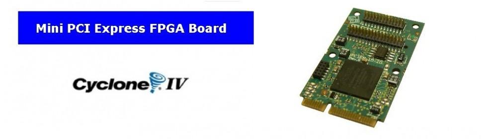 Mini PCIe Fpga Board