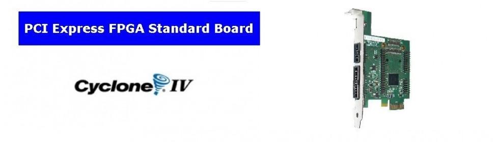 Std. PCIe Fpga Board