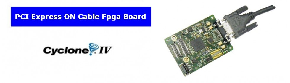 PCIe on Cable Fpga Board